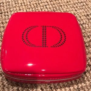 Dior travel jewelry or cosmetic bag